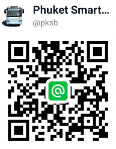 Line@ PKSB, Official Line Account, Phuket Smart Bus